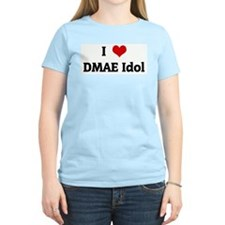 I Love DMAE Idol Women's Pink T-Shirt