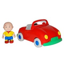 Caillou Pullback Vehicle