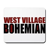 Greenwich Village Bohemian Mousepad