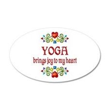 Yoga Joy Wall Decal
