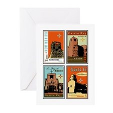 Sanctuario de Guadalupe Greeting Cards (Package of