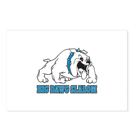 Big Dawg Slalom Postcards (Package of 8)