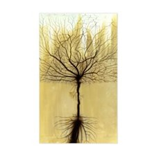 Fractal Tree Rectangle Decal