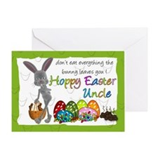 Uncle Fun Humorous Easter Greeting Card
