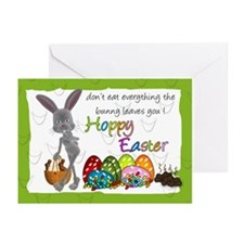 Fun Humorous Easter Greeting Card (Pk of 20)