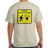 Ash Grey Control Zone T-Shirt