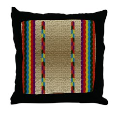 Indian Beadwork Throw Pillow