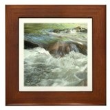 Mountian stream Framed Tile