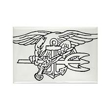 Navy SEAL - UDT Trident Rectangle Magnet