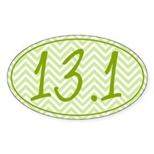 13.1 Green Chevron Decal
