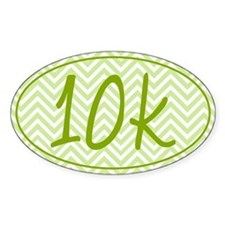 10k Green Chevron Decal