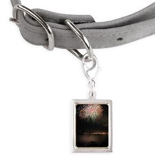 New Years Eve Small Portrait Pet Tag