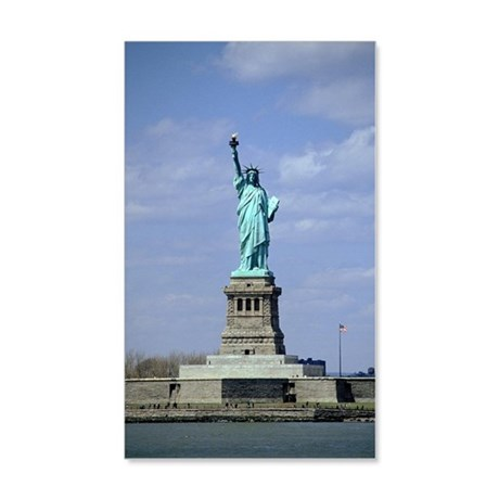 Statue of Liberty, New York City, 20x12 Wall Decal