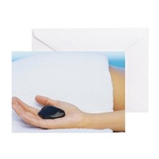 A woman's hand holding a Greeting Cards (Pk of 20)