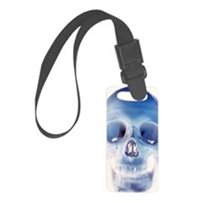structure of a human skull Luggage Tag