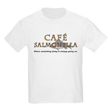 Cafe Salmonella Kids T-Shirt