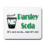 Parsley Soda Mousepad