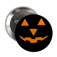 "Jack-O-Lantern 1 2.25"" Button (10 pack)"
