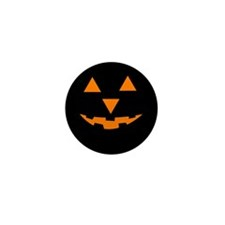Jack-O-Lantern 1 Mini Button (10 pack)