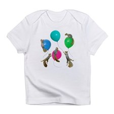 Squirrels Balloons Infant T-Shirt