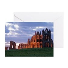 Abbey, North Yorkshire Greeting Cards (Pk of 20)