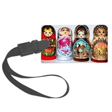 Matryoshkas Luggage Tag