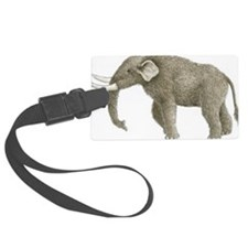 Illustration of Mastodon (Mammut Luggage Tag