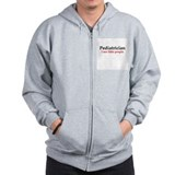 Cute Pediatrician Zipped Hoody