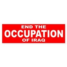 OCCUPATION Bumper Bumper Sticker