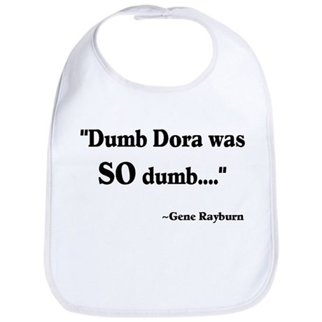 Dumb Dora Match Game Rayburn Bib