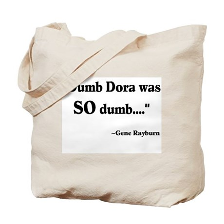 Dumb Dora Match Game Rayburn Tote Bag