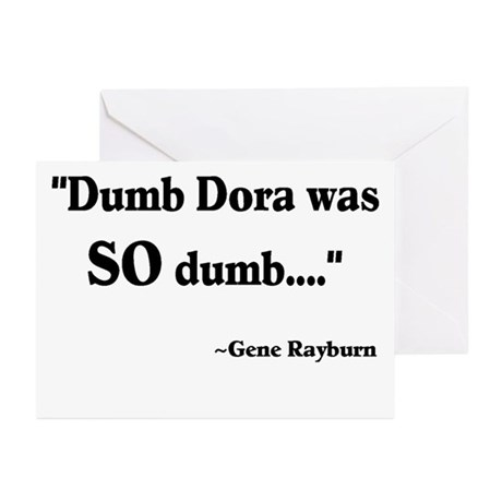 Dumb Dora Match Game Rayburn Greeting Cards (Pk of