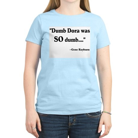 Dumb Dora Match Game Rayburn Women's Light T-Shirt