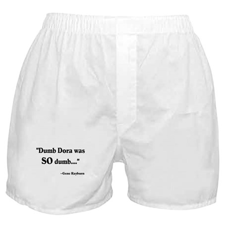 Dumb Dora Match Game Rayburn Boxer Shorts