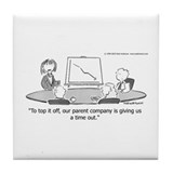 Funny Andertoons Tile Coaster