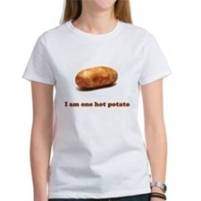 Hot Potato Tshirt (white)
