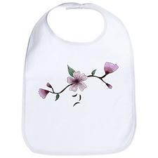 Cherry Blossoms Bib