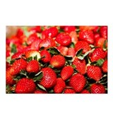 Close-up of strawberries, Postcards (Package of 8)