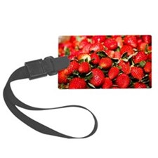 Close-up of strawberries, Zacate Luggage Tag