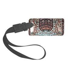 Persian Rug Luggage Tag