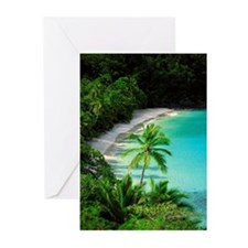 Hawks Nest Bay, Virgin I Greeting Cards (Pk of 10)