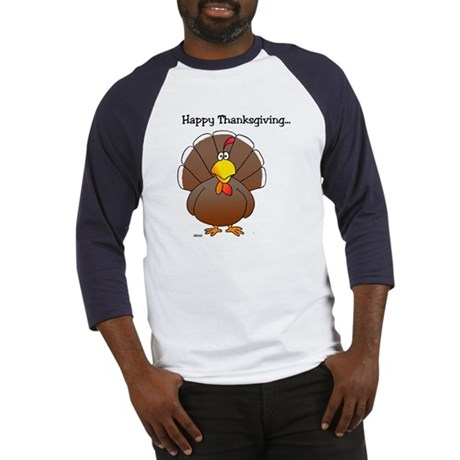 'Happy Thanksgiving' Baseball Jersey