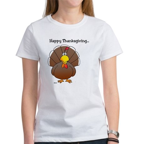 'Happy Thanksgiving' Women's T-Shirt