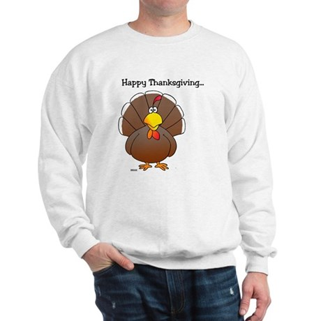 'Happy Thanksgiving' Sweatshirt
