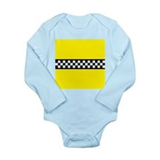 Iconic NYC Yellow Cab Long Sleeve Infant Bodysuit