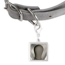 Bedpan Small Square Pet Tag