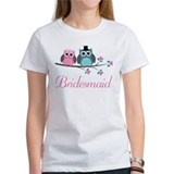 Bridesmaid Wedding Owls Tee