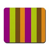 Fruity Stripes Mousepad