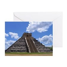 El Castillo temple Greeting Cards (Pk of 10)