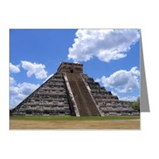 El Castillo temple Note Cards (Pk of 20)